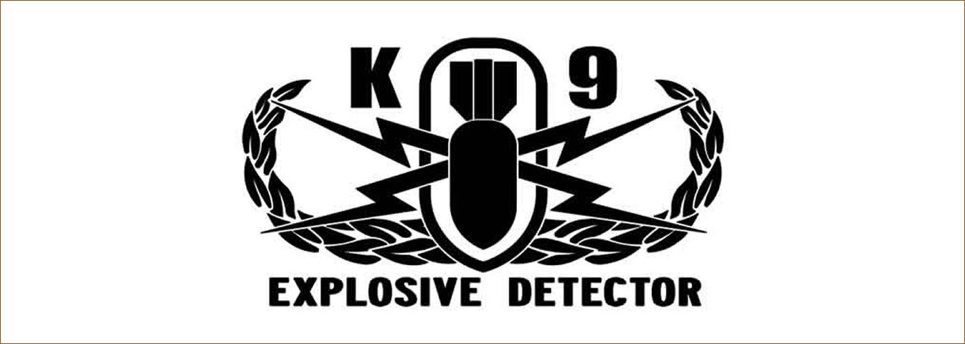 K9 Explosive Detector